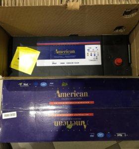 Аккумуляторы Американ 190ah новые 2 шт в упаковке