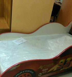 Кровать-машинка НОВАЯ от производителя