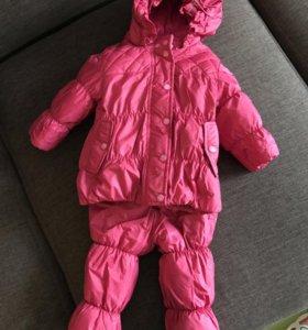 Зимний комплект (куртка, комбинезон)