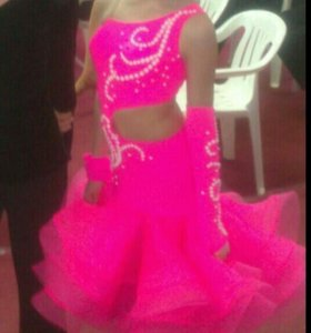 Платье для спортивно бальных танцев