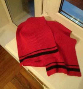 Новый шарф шерстяной