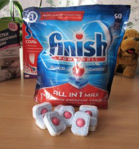 Таблетки для посудомоечной машины Finish