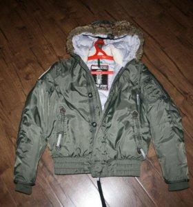 Брендовая куртка-пилот