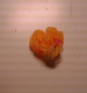 Сердечко из резиночек