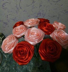 букет из 11роз(цвет по вашему желанию)