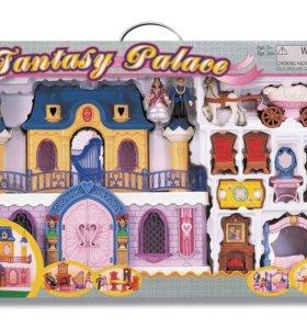 Игровой набор - дворец с каретой и предметами