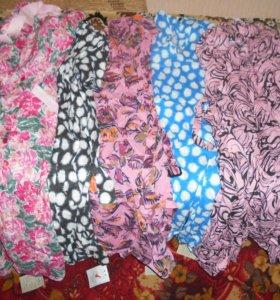 Халаты и платья из штапеля