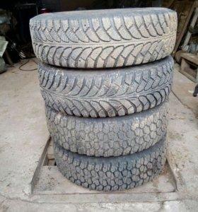 Зимняя резина, 4 колеса