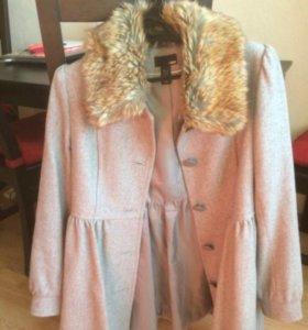 Пальто с юбочкой