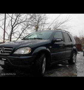 Mercedes-Benz M-klasse AMG I (W163) бензин 2001