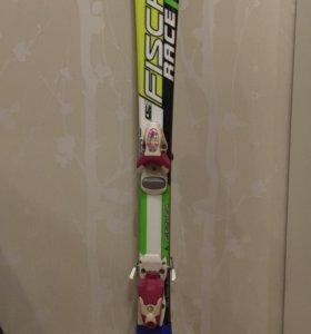 Детские горные лыжи Fischer