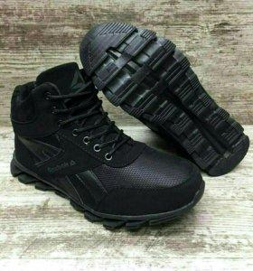 Мужские ботинки, зима ,42,маломер на разм