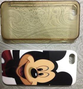 Крышка на iPhone 5s