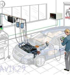 Автоэлектрик, компьютерная диагностика двигателя.