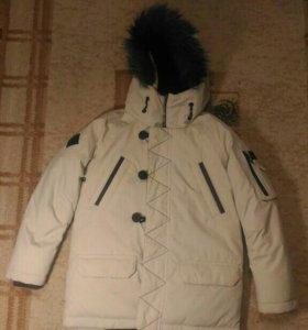 Куртка зимняя next рост 116