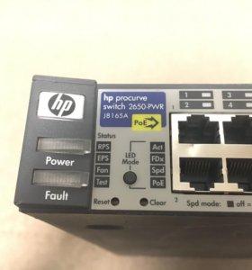 Коммутатор hp procurve switch 2650-pwr j8165a