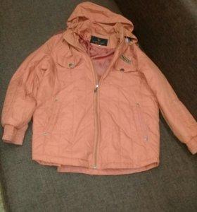 Куртка подростковая осень-весна.