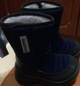 Новые зимние сапожки Куома