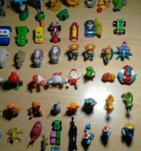 Игрушки от киндеров