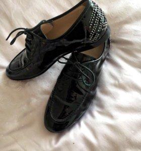 Классические лаковые ботинки, 38