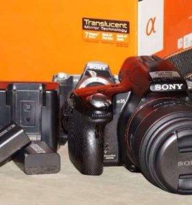 Slt-a35 Sony alpha зеркальный фотоаппарат