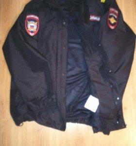 Ветровлаглзащитная куртка Полиция