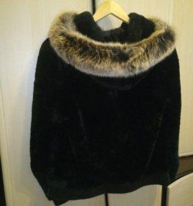 Полушубок-курточка мутон