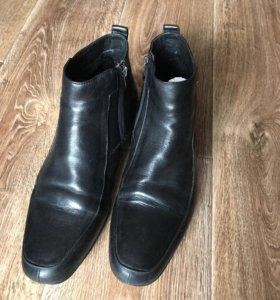 Зимние ботинки P.Cont нат. кожа