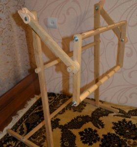 Пяльца-рамка для вышивания напольная (25х52 см)