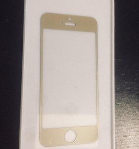 Стекло защитное для iPhone5