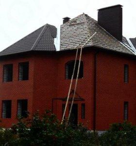 Крыша, сайдинг, заборы