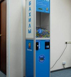Установим автомат с бахилами