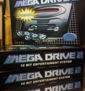 Sega Mega Drive 2 + 75 игр