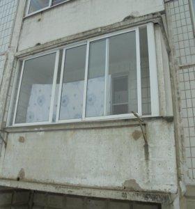 раздвижная рама на лоджию или балкон