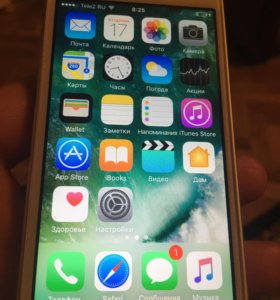 iPhone 5s silver, Ростест.