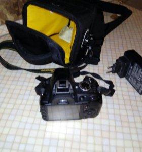 Зеркальный фотоаппарат Nikon 3100d