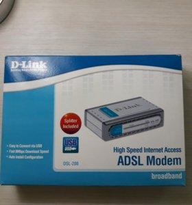 ADSL модем