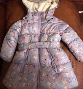 Зимний костюм для девочки р 92. Тм Акула