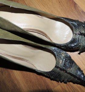 новые брендовые туфли