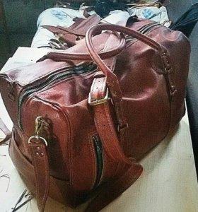 Портфели и сумки из кожи ручной работы
