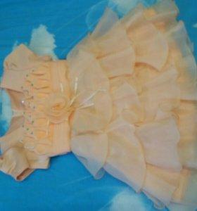 Платье 1-3лет