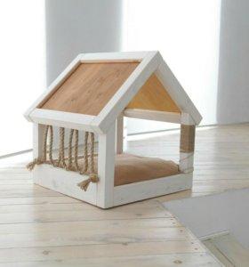 Интерьерный домик для кошек и собачек