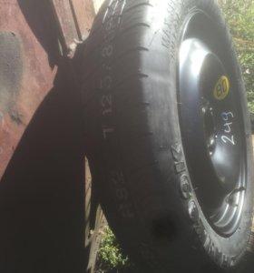 Запасное колесо форд фокус 2 докатка