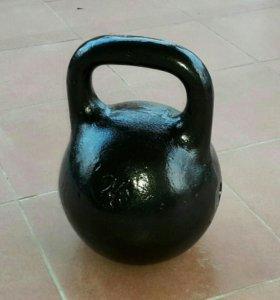 Гиря спортивная 24 кг