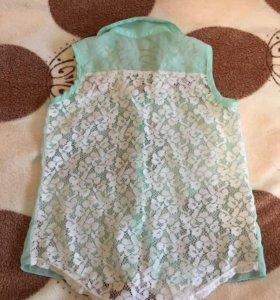 Блузка на девочку 4-5 лет