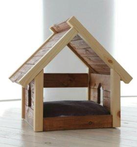 Домик для кошек и маленьких собачек