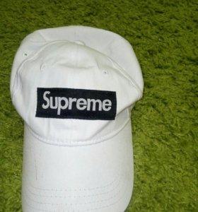 Кепка Supreme,белая