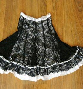 кружевная юбка
