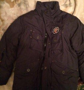 Куртка зимняя на мальчика р.146