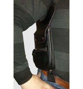 сумка кожаная скрытого ношения